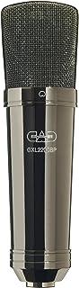 CAD Audio GXL2200BP Large Diaphragm Cardioid Condenser Microphone, Black Chrome Finish
