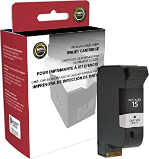 Inksters Remanufactured Ink Cartridge Replacement for HP 15 C6615DN (HP 15) - Black