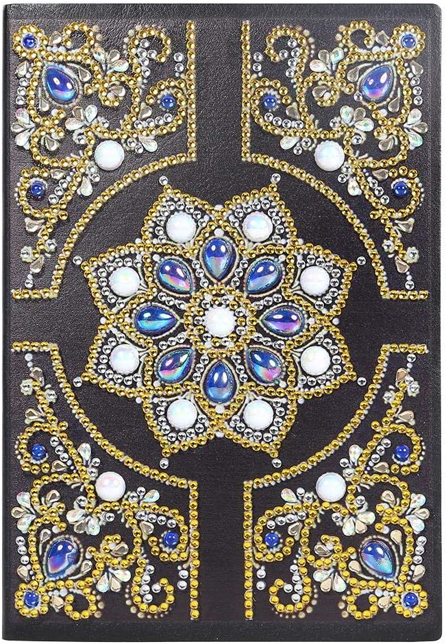 DIY Animer and price revision Mandala Notebook Special Shaped 50 Pages Diamond A5 Ranking TOP14 Painting