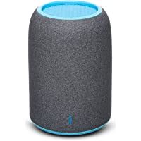 ZENBRE M4 Portable Bluetooth Speaker with Enhanced Bass Resonator, Built-in Mic for Phone Call, 5-Hour Playtime (Blue)