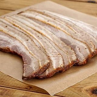 無添加・砂糖不使用 放牧豚 厚切り スモーク ベーコン スライス 300gx3 合計 900g All-Natural Sugar-Free Free-Range Smoked Bacon Slices Extra Thick