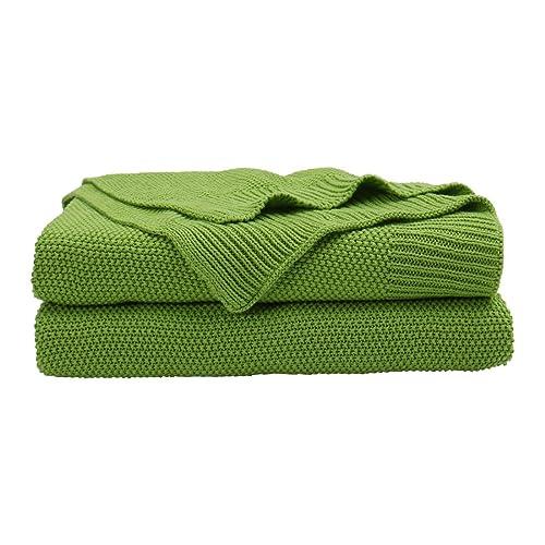 Soft Bright Green Throw Blanket: Amazon.com