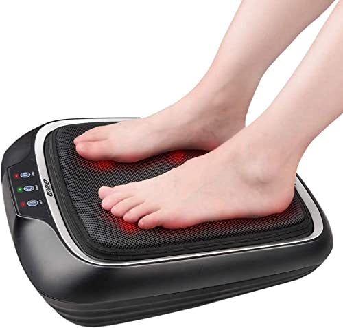 RENPHO Electric Shiatsu Foot Massager with Heat and Deep Kneading, Foot Massage Machine with Washable Cover for Plant...