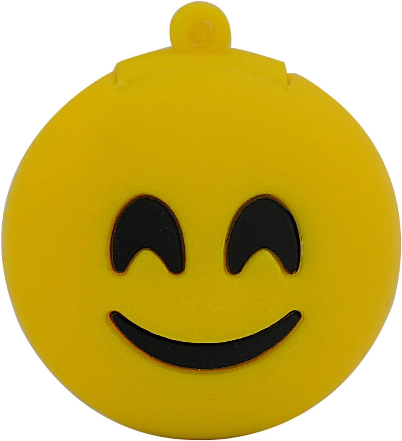 818 Shop No27500020008 Cle Usb 8go Smiley Joyeux Jaune Amazon Fr Informatique