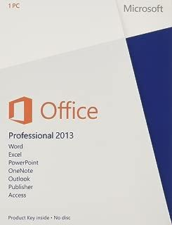 Microsoft Office 2013 Professional 32/64-bit