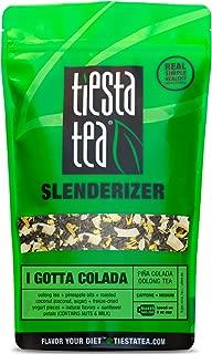 Tiesta Tea I Gotta Colada, Pina Colada Oolong Tea, 200 Servings, 1 Pound Bag, Medium Caffeine, Loose Leaf Oolong Tea Slenderizer Blend