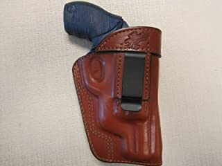 FITS Taurus 4510 Poly Public Defender,ambidextrous Formed Brown Leather Holster