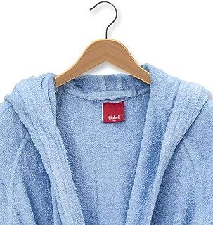 f0e6c0d3e0a8a Giosal Gabel Peignoir en éponge Bleu Ciel uni pour Homme et Femme XXL Bleu  Ciel