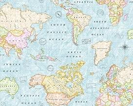 Amazon Es Tela Mapa Mundi