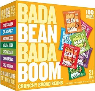 Enlightened Bada Bean Bada Boom Bada Bean Bada Boom Roasted Broad Beans Sea Salt, 12 x 28 gm