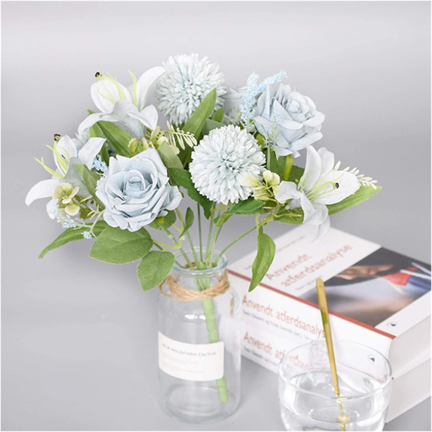 free XIAOXUANMY Artificial Flowers Same day shipping 1 Hydra Bouquet