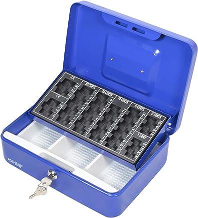 plata para monedas 30 x 24 x 9 cm HMF 108-09 Caja de caudales