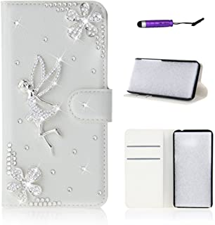 NCTECHINC Wiko Robby Skins PU Leather Wallet Case Flip Kickstand Function Ultra Folio Flip Slim Card Holder Case Cover Leather Case for Wiko Robby (Wiko Robby/Wiko S-Kool)