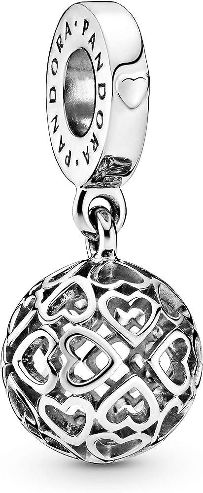 Pandora, bead charm,ciondolo per donna,in argento 797255