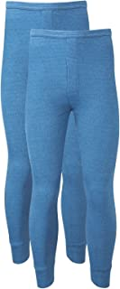 Heatwave® Pack of 2 Men's Thermal Trousers Long Johns Warm Underwear Baselayer, S M L XL XXL Thermals