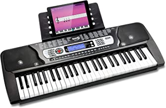 RockJam 54-Key Portable Electronic Keyboard with Interactive