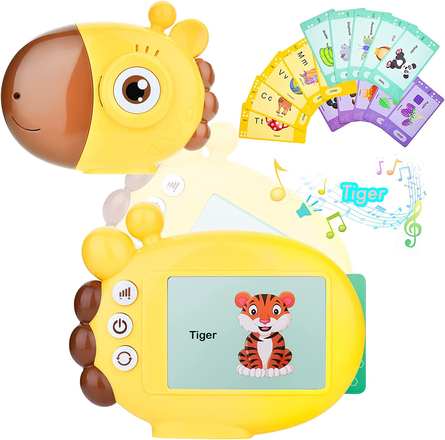 TYHFLY Same day Max 86% OFF shipping Preschool Educational Toys Cards Toddlers Flash Talking