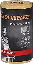 Agera Tools 632011-180 Proline Sanding Roll Mini 115 mm x 5 m P180, geel/goud