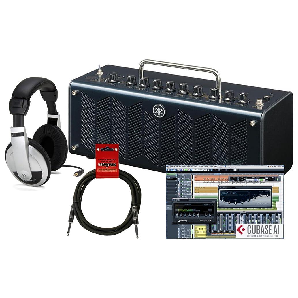 Yamaha THR10C CLASSIC 10 watt (5W+5W) Stereo Amplifier Head w/Headphones and Guitar Cable