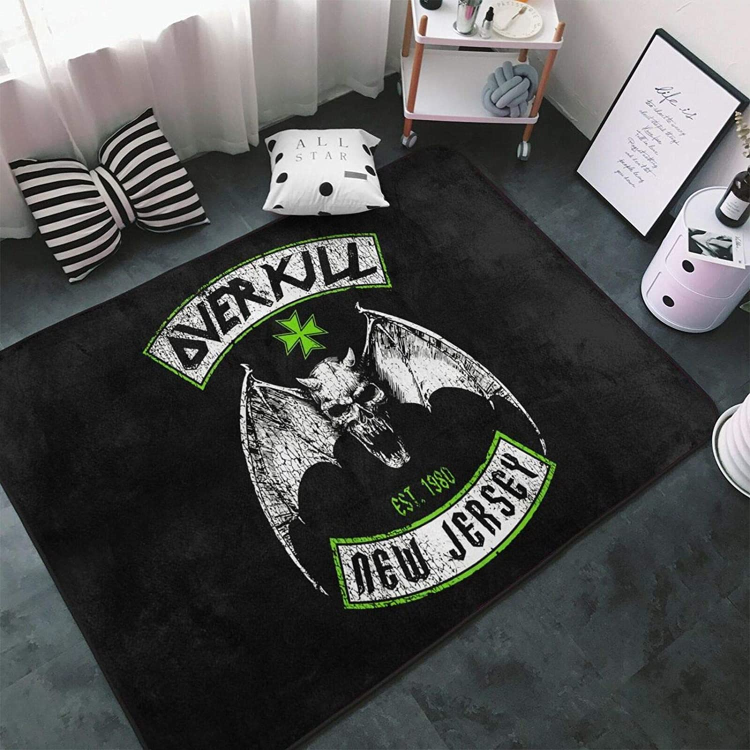 Overkill Carpet Area Rug Fluffy Max 51% OFF Bedroom Decor Home Non Soft Fees free Rugs