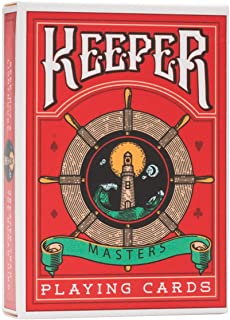 Keepers Playing Cards - Red