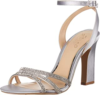 Badgley Mischka Women's Sparkle Heeled Sandal
