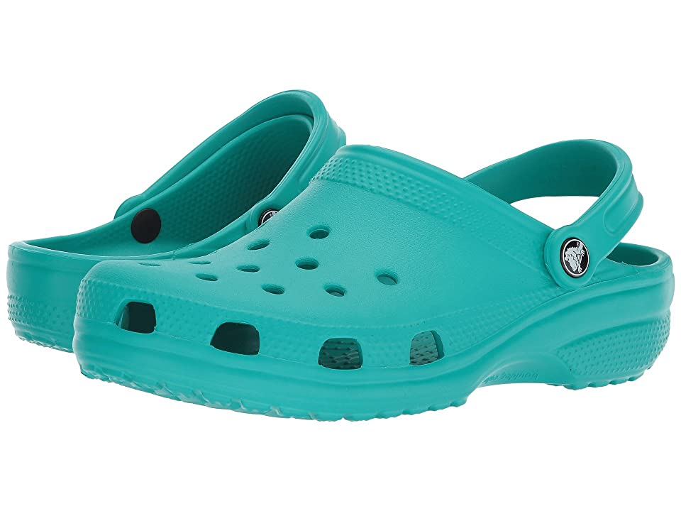 Crocs Classic Clog (Tropical Teal) Clog Shoes