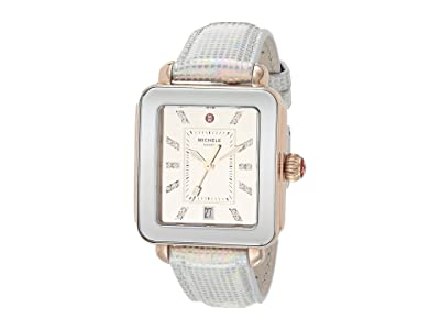 Michele Deco Sport Iridescent and Mirror Dial (Gold) Watches
