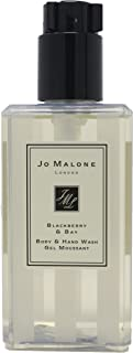 Jo Malone London Body and Hand Wash Gel for All Skin Types Scent Blackberry and Bay 8.5 Ounce with Pump (No Box/Unboxed)