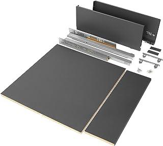 Emuca 3173435 Schubladen-Kit Drawer, Height: 178 mm, Modul 600 mm