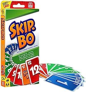 Mattel Games 52370 Skip-Bo, Kortspel, Flerfärgad