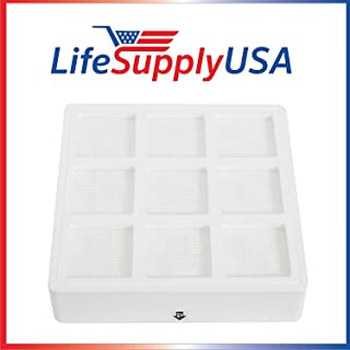 LifeSupplyUSA 3 Pack Aftermarket Replacement Filter Compatible with IQAIR PreMax Filter F8 IQ Air Pre Max 102 10 10 00