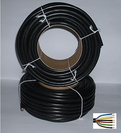 25m FLYY 7x1,5mm² Fahrzeugleitung Fahrzeugkabel Anhänger Kabel