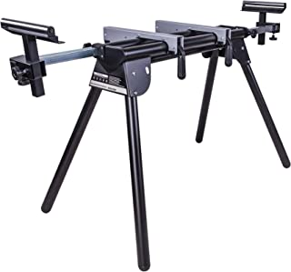 Evolution Power Tools EVOMS1 Compact Folding Mitre Saw Stand with Extending Support Arms and Quick Release Clamps, Univers...