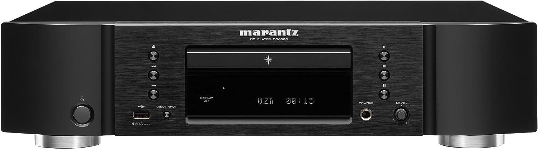 Reproductor de CD para Apple iPhone/iPod de Marantz CD6006/N1B (CD-R/RW, 32 W, 100 dB, USB A)