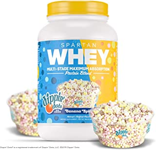 Sparta Nutrition Spartan Whey Ultra Premium Protein Blend, DIPPIN' DOTS Banana Split, 2 lb