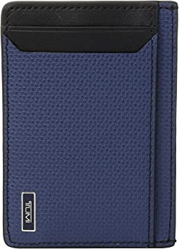 7d432d0531a Cole haan madison collection card case money clip mahogany | Shipped ...