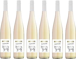 """Metzger """"Prachtstück"""" Spätburgunder """"Blanc de Noirs"""", QbA, trocken Deutschland aus der Pfalz 6 Flaschen"""