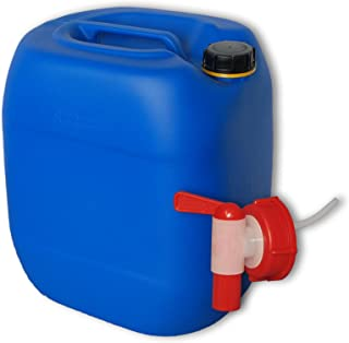 1 Bec verseur Rigide DIN 61 Jerrican 20 L Bleu plasteo Lot de 3 bidons HDPE 22048x3+22019 Alimentaire
