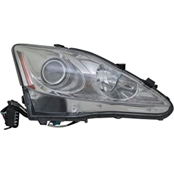 Partslink Number LX2518125 OE Replacement LEXUS IS250 Headlight Assembly Multiple Manufacturers LX2518125N