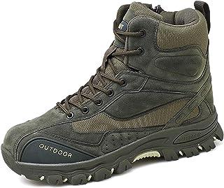 comprar comparacion AONEGOLD Botas de Montaña para Hombre Zapatillas de Senderismo Trekking Zapatos al Aire Libre Calzado Antideslizante Botas...