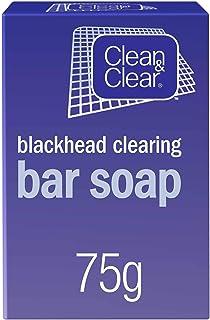 CLEAN & CLEAR Face Bar Soap, Blackhead Clearing, 75g