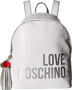 Love Moschino Backpack w/ Tassel