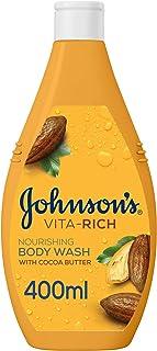 صابون سائل للاستحمام فيتا ريتش للانتعاش من جونسون 400ml