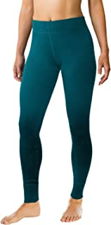 Woolx Avery - Women's Wool Leggings - Midweight Merino Base Layer Bottoms - Warm & Soft