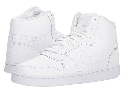 Nike Ebernon Mid (White/White) Men