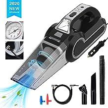 Enpro Handheld Vacuums, Mutifunction Car Vacuums Cleaner with Searchlight, Tire Pressure..