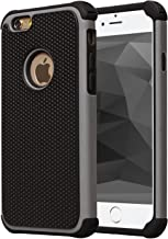 AGRIGLE Shock-Absorption Anti-Scratch Heavy Duty Dual Layer Protective Case Compatible iPhone 6 Plus / 6s Plus 5.5 in (Grey)