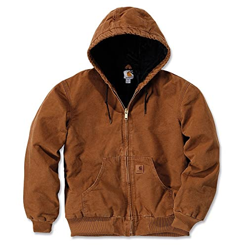 c52abb9528662 Carhartt Men's Sandstone Active Jacket