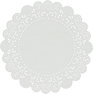 Royal 8 Inch Disposable Paper Lace Doilies, Package of 500
